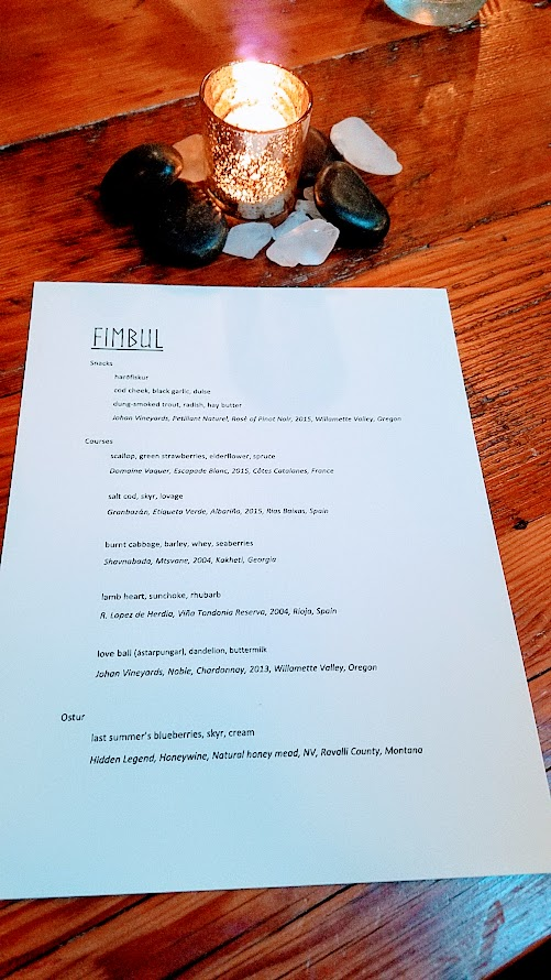 Fimbul PDX, an Icelandic Pop up