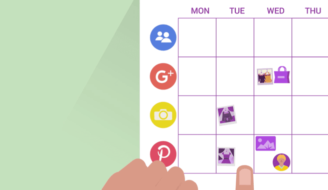 Create a long-term social media plan