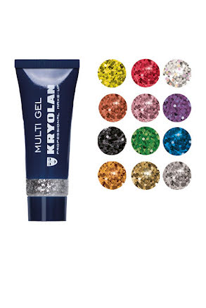 Glittergel multi, Kryolan