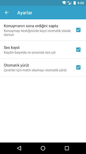 Screenshot for SayHi Çeviri in Turkey Play Store