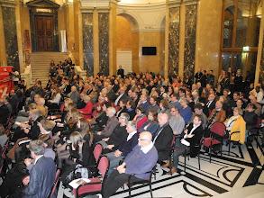 Photo: Inauguration de l'exposition the gabonionta, Vienne le 11/3/2014.