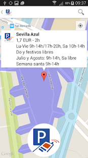 Presto Parking: miniatura de captura de pantalla
