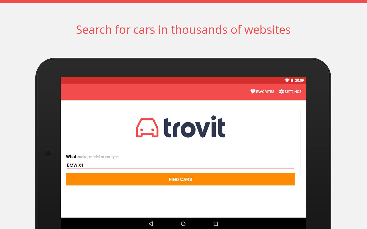 Used cars for sale - Trovit- screenshot