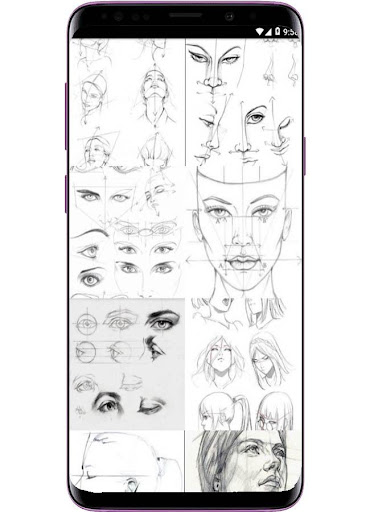 Face Drawing Step by Step 1.3.0 screenshots 2