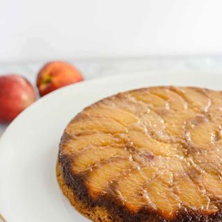 Peach Upside Down Cake {gluten free + paleo friendly}
