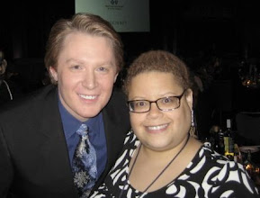 Photo: With Raleigh, NC native and American Idol runner-up, recording artist Clay Aiken.