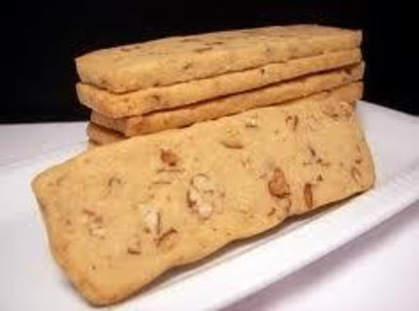 Pecan Cookie Logs Recipe