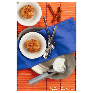 "Low Carb ""Fried Ice Cream"" Recipe"