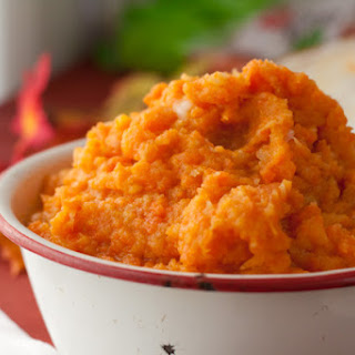 Maple Turnip and Carrot Mash