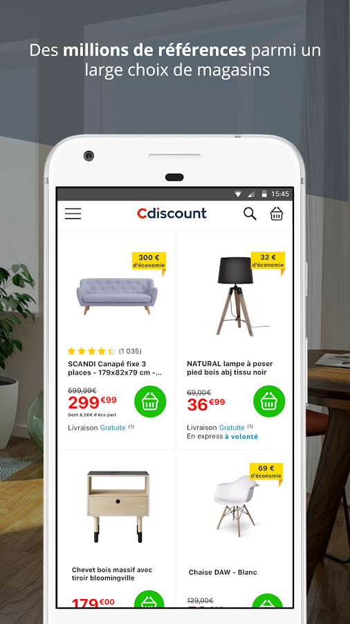Cdiscount shopping- screenshot