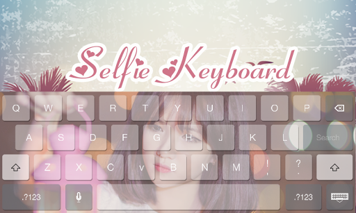 Selfie Cute People Keyboard  screenshots 1
