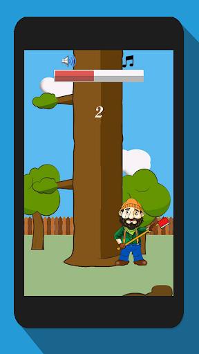 Timberman, Wood Chopping Fun  screenshots 2
