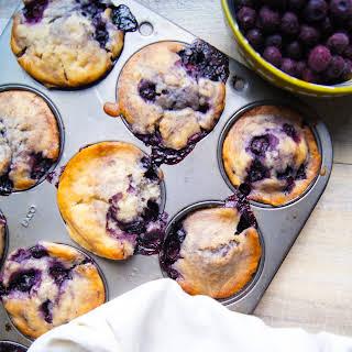 Vegan Blueberry Mind-Blowing Muffins.