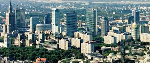 Photo: Poznávání Varšavy - virtuální prohlídka. Varšava, panorama.