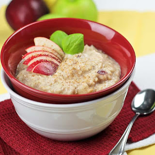 Fluffy Apple Cinnamon Oatmeal Recipe