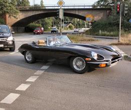 Photo: Ein schönes Jaguar Type E Cabrio