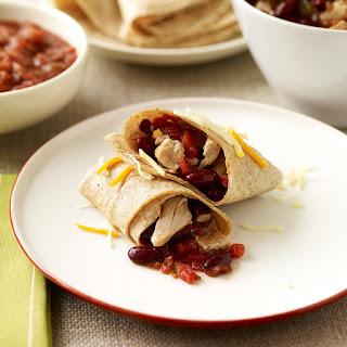Slow Cooker Chicken Burritos.