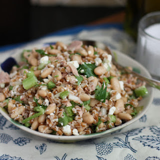 Italian Tuna and White Bean Farro Salad Recipe