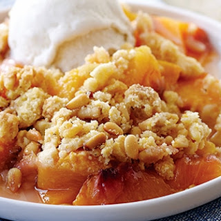 Navajo-Style Peach Crisp