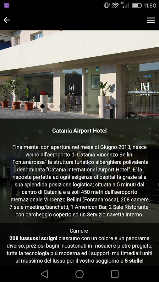 Catania Airport Hotel- screenshot