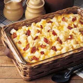 Cheesy Potato Ham Casserole