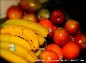 Photo: This morning, the colors and vibrance of our fruit tray struck me as beautiful.