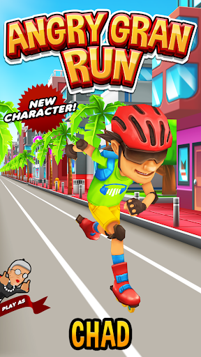 Angry Gran Run - Running Game APK MOD screenshots 2