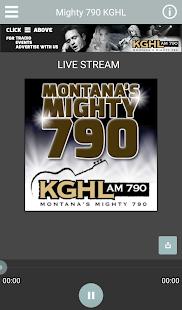 790 KGHL Now- screenshot thumbnail