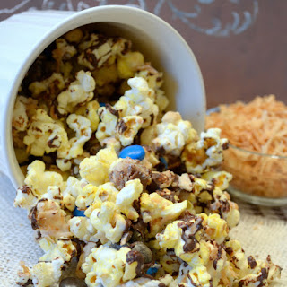 Almond Joy Popcorn Munch