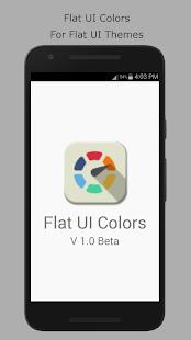 Flat UI Colors - náhled