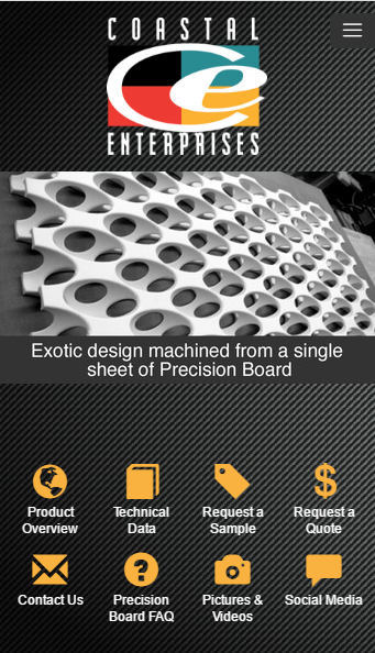 Precision Board Mobile- screenshot