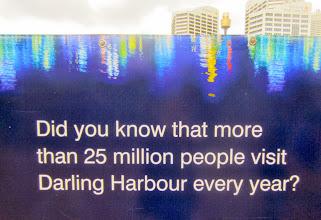 Photo: Darling Harbour on ihan suosittu paikka