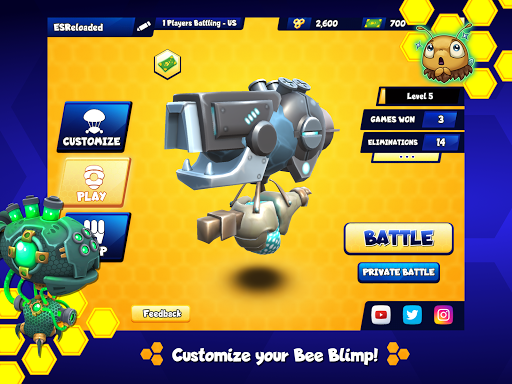 Battle Bees Royale screenshots 7