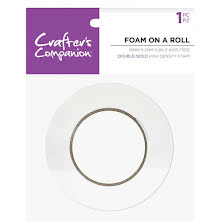 Crafters Companion Foam On A Roll 2meter