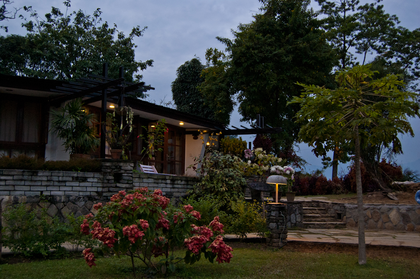 Photo: Fishtail Lodge, Pokhara, Nepal.