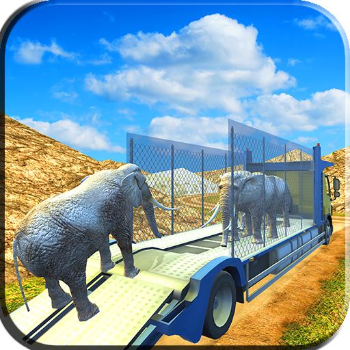 Drive Zoo Animal Truck Sim 3D