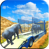 Drive Zoo Animal Truck Sim 3D