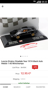 ck-modelcars-UK Shop- screenshot thumbnail