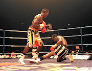 Thulani Malinga knocked down Nigel Benn in the 12th round to end his reign as the WBC champion in  1996. Benn has made a shock return to the boxing ring at the age of 55.
