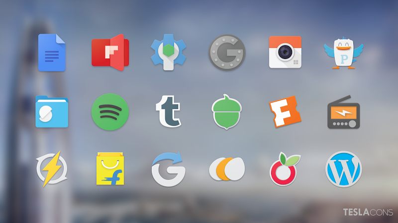 Teslacons Icon Pack v1.5