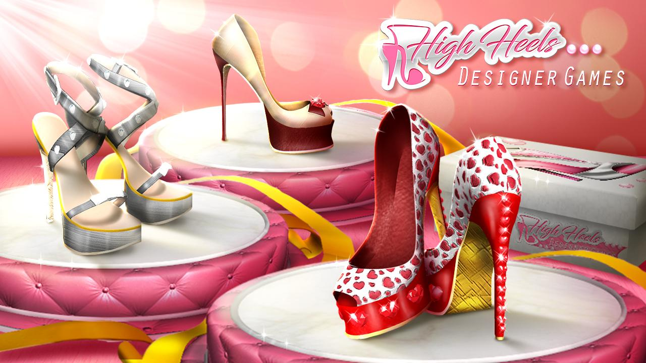High Heels Designer Games- screenshot