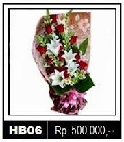 Buket Bunga untuk Hadiah di Hari Ibu di Sragen