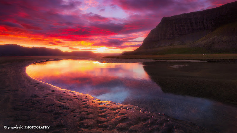 Photo: Arnarfjordur , Iceland West Fjords on a stupendous morning in 2010