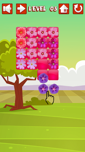 Free Kid Flower Game Puzzle
