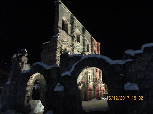 Aosta prima neve di tiz