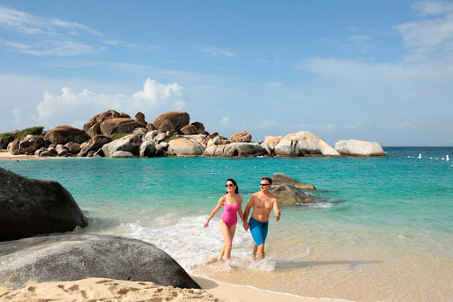 Seadream-thebaths-beach.jpg - Visit the Baths in the British Virgin Islands for a memorable getaway.