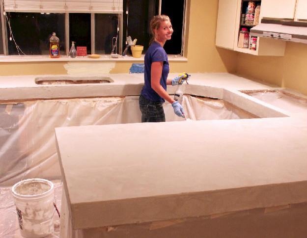 Kitchen Island Granite Overhang Minimum