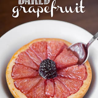 Baked Grapefruit.