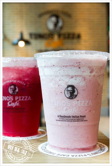 堤諾披薩菜單莓莓優格冰沙