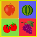 Fruit Quiz Game - For Kids icon